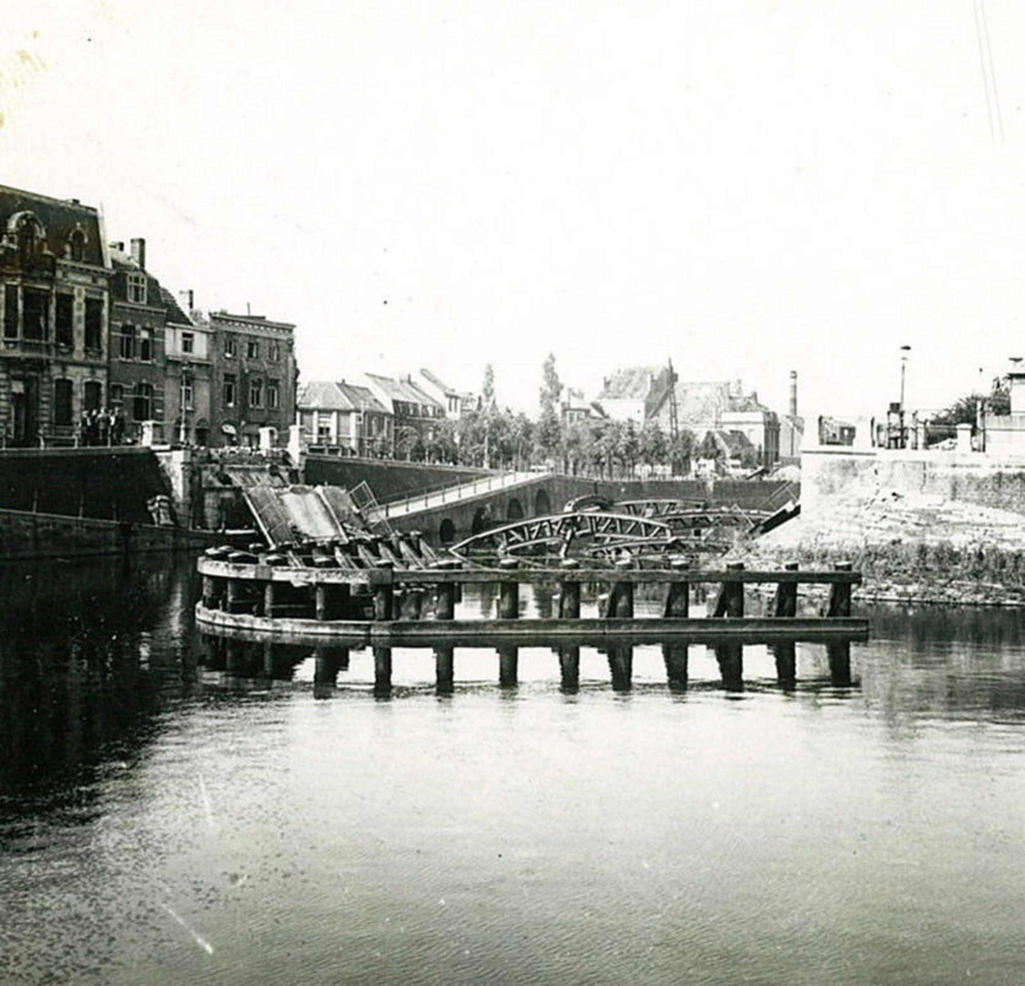 Reepbrug tijdens Wereldoorlog II
