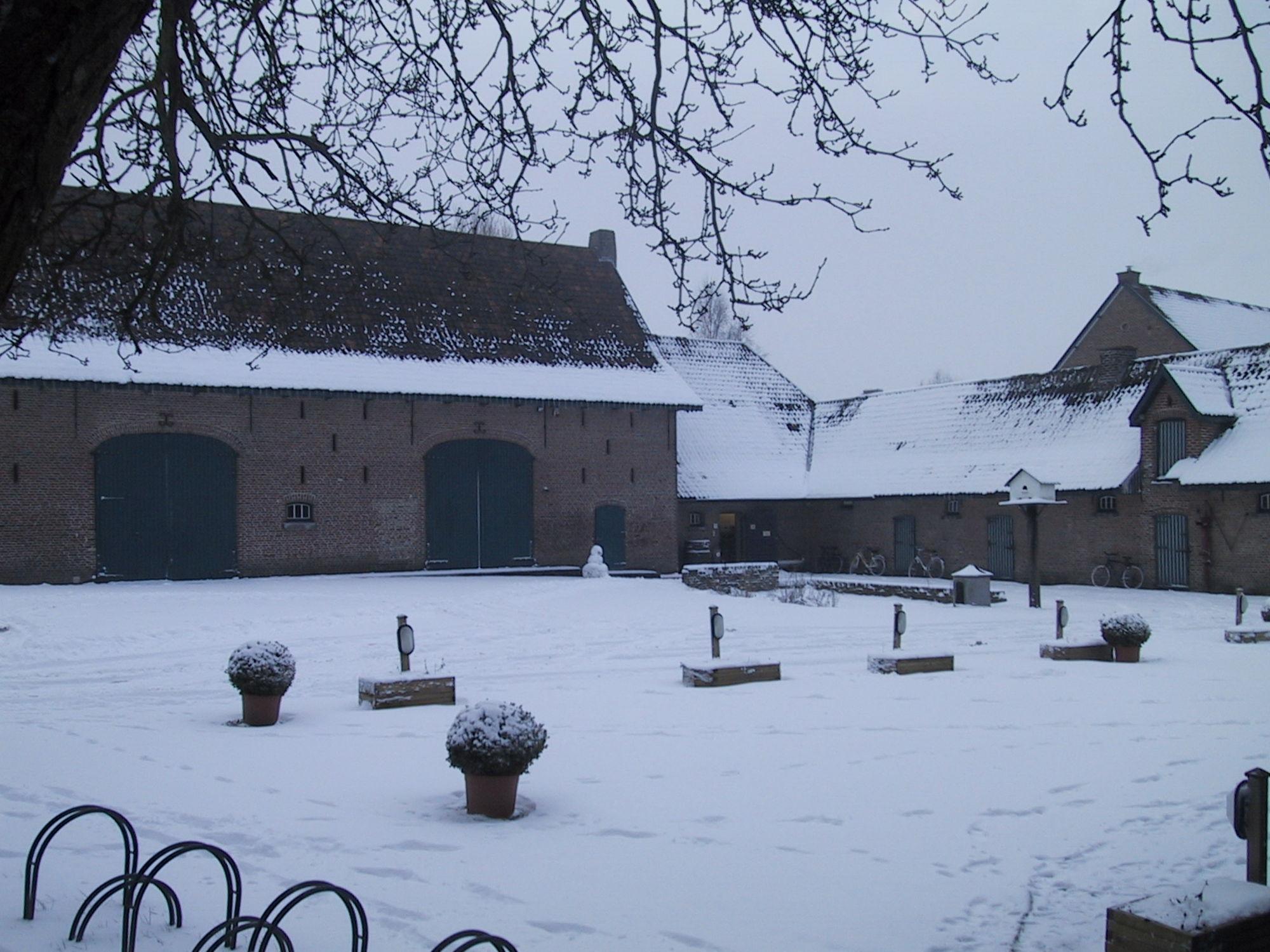 Winterlandschap Vlasmuseum 2013