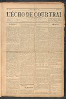 L'echo De Courtrai 1911-01-26 p1