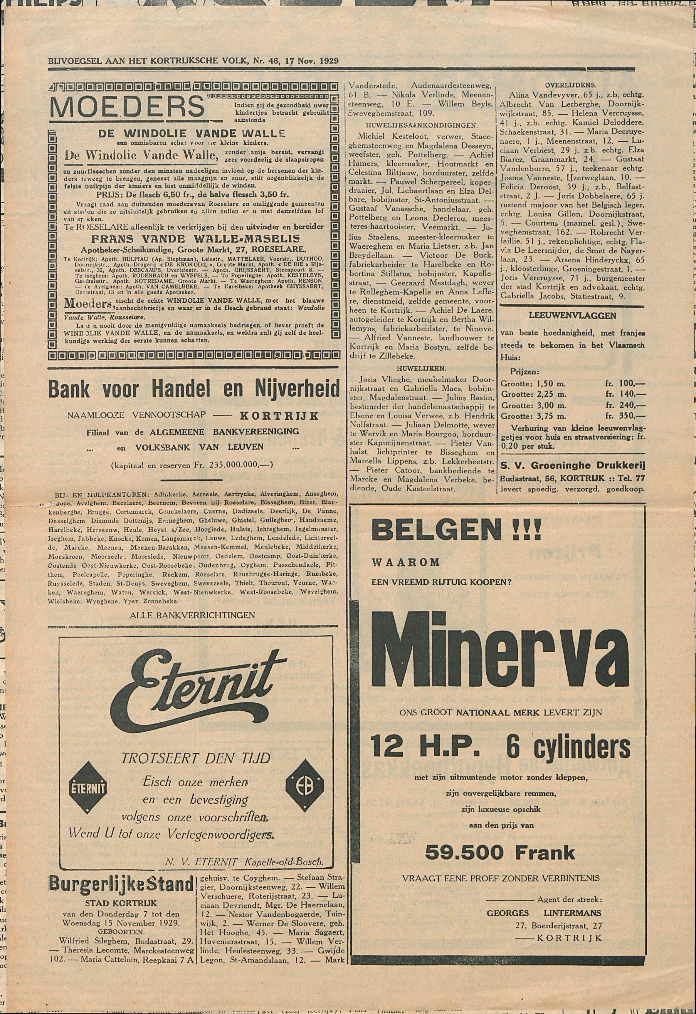 Het Kortrijksche Volk 1929-11-17 p4