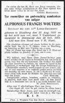 Alphonsus-Francis Wouters