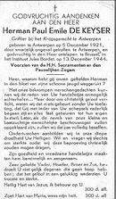 Herman-Paul-Emile De Keyser