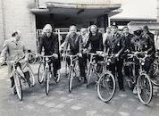 Inrijden fietsen door gemeentebestuur