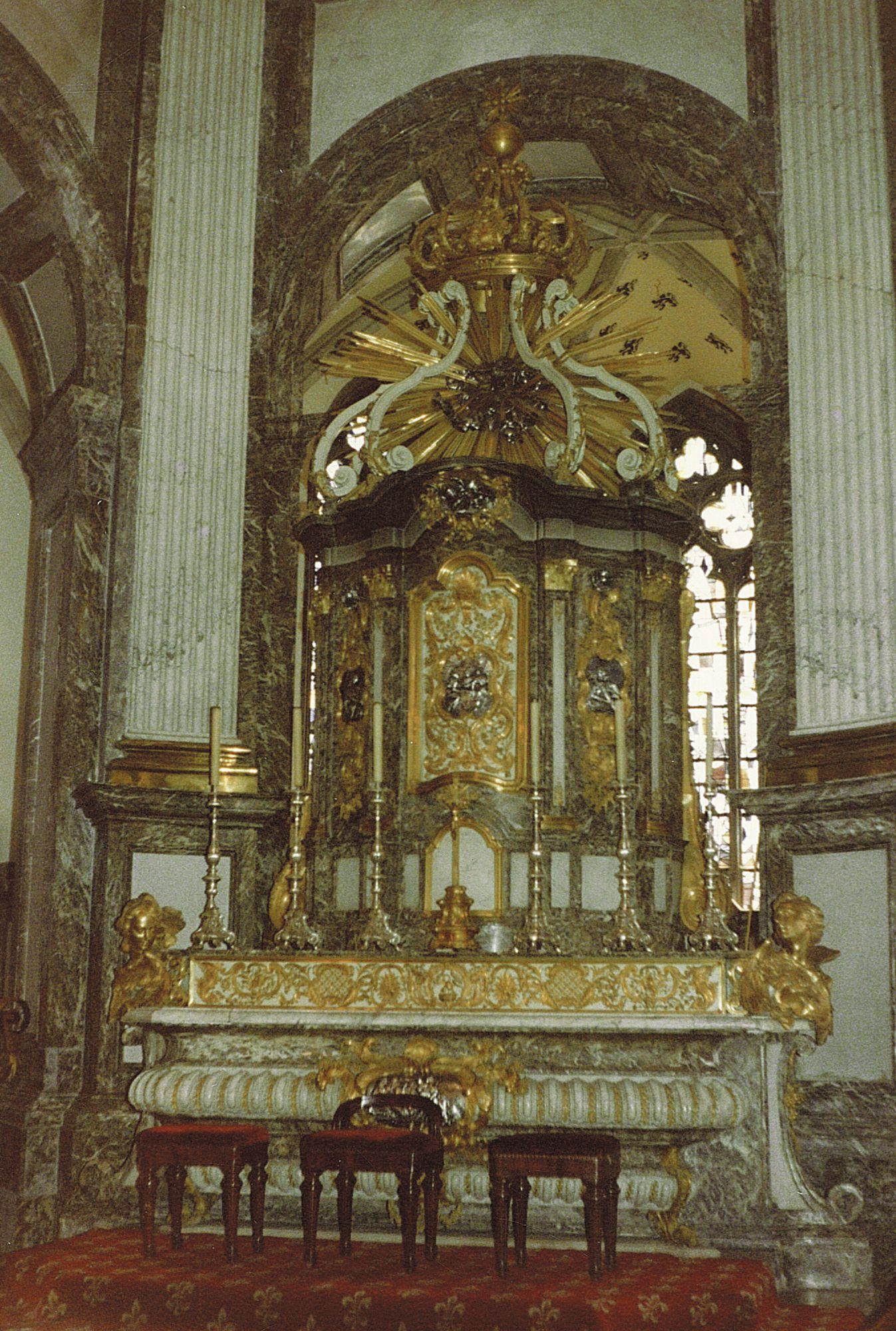 Hoogaltaar Onze-Lieve-Vrouwekerk