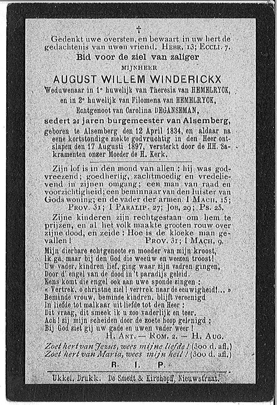 August Willem Winderickx