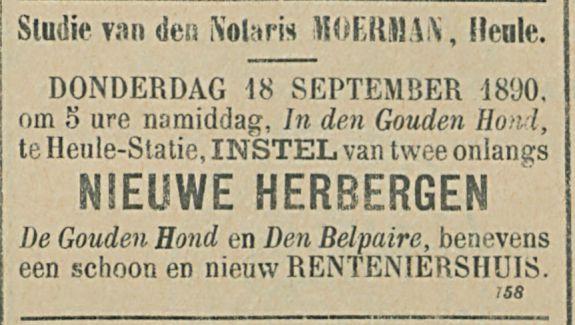 NIEUWE HERBERGEN