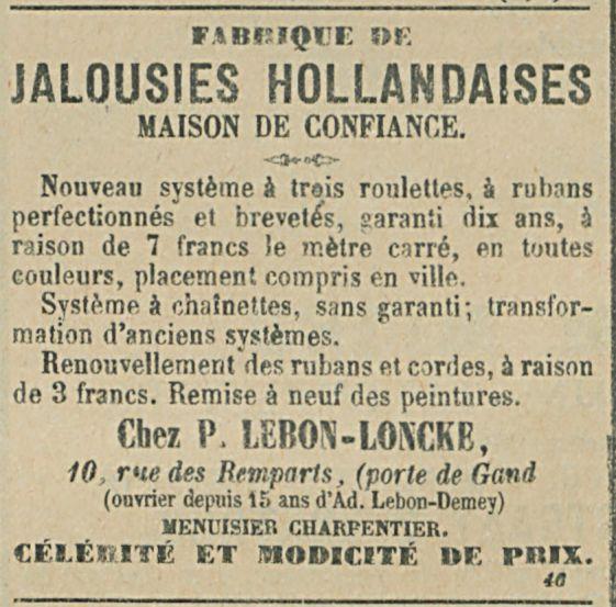 JALOUSIES HOLLANDAISES