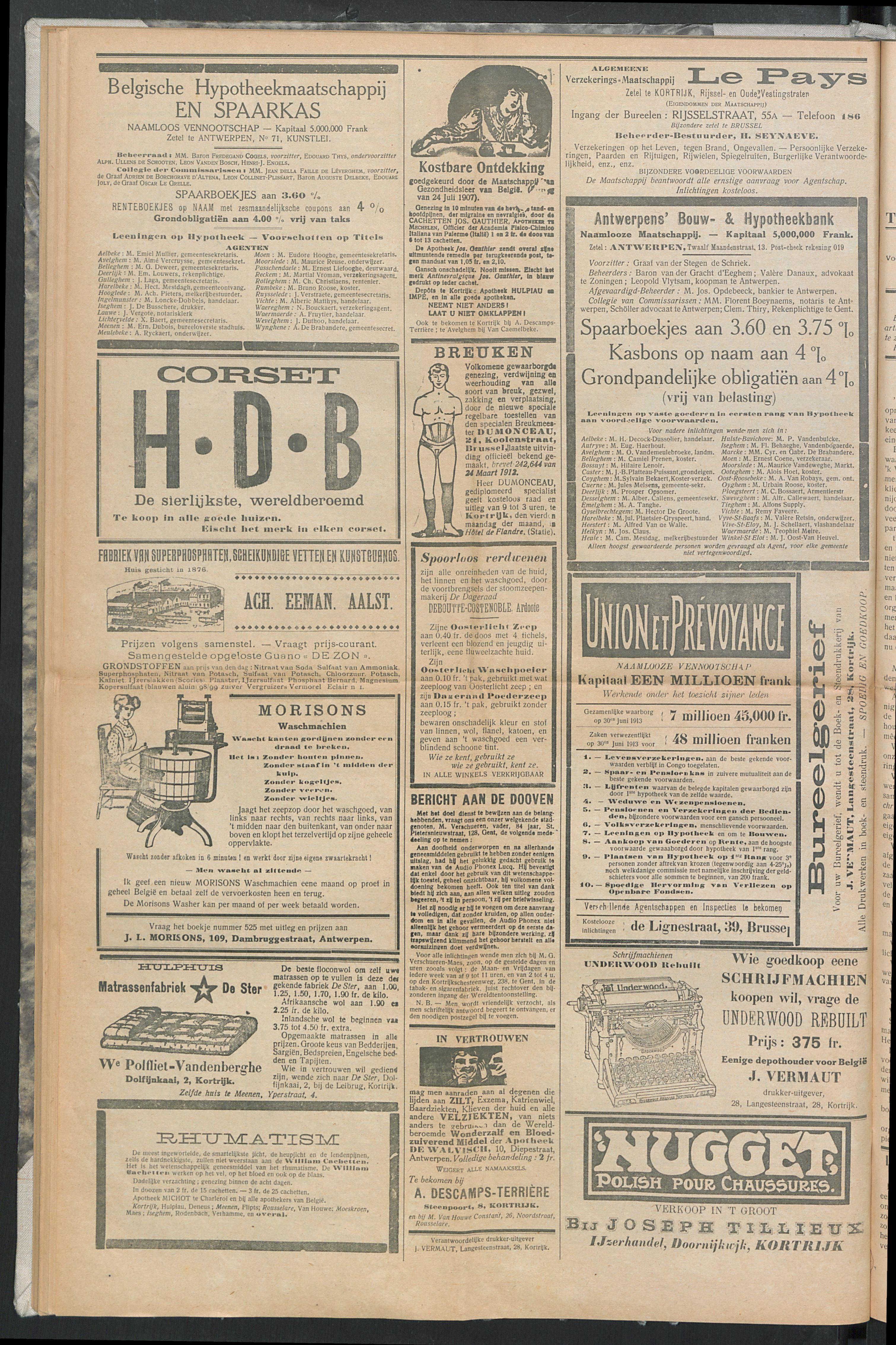 Het Kortrijksche Volk 1914-05-10 p8