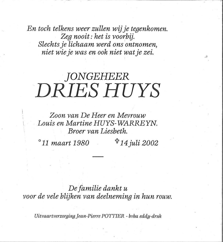 Dries Huys