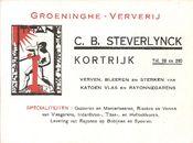 Groeninghe Ververij: inktvilt