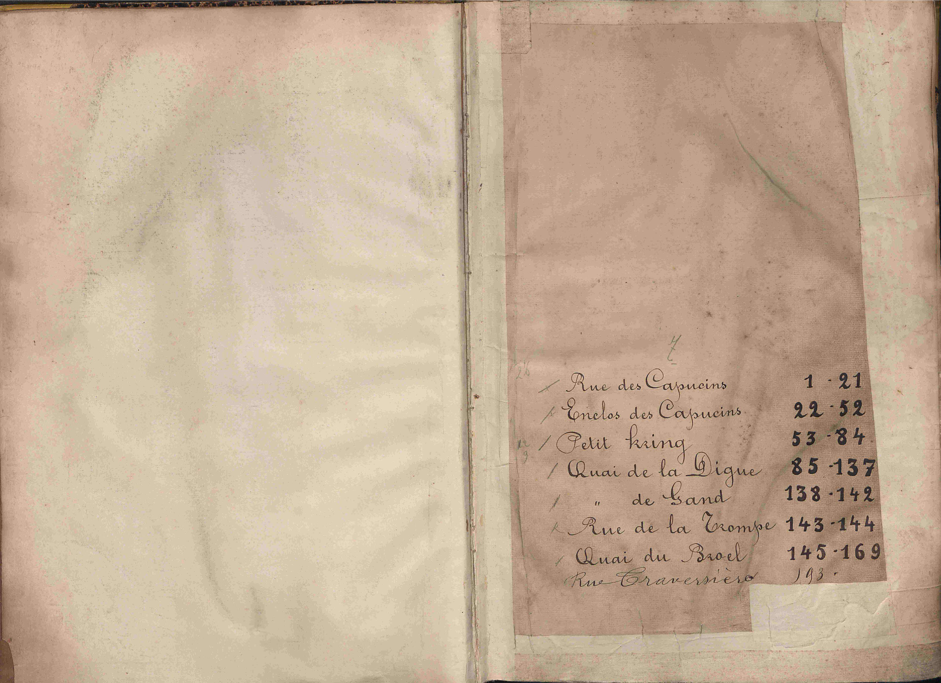 Bevolkingsregister Kortrijk 1890 boek 7