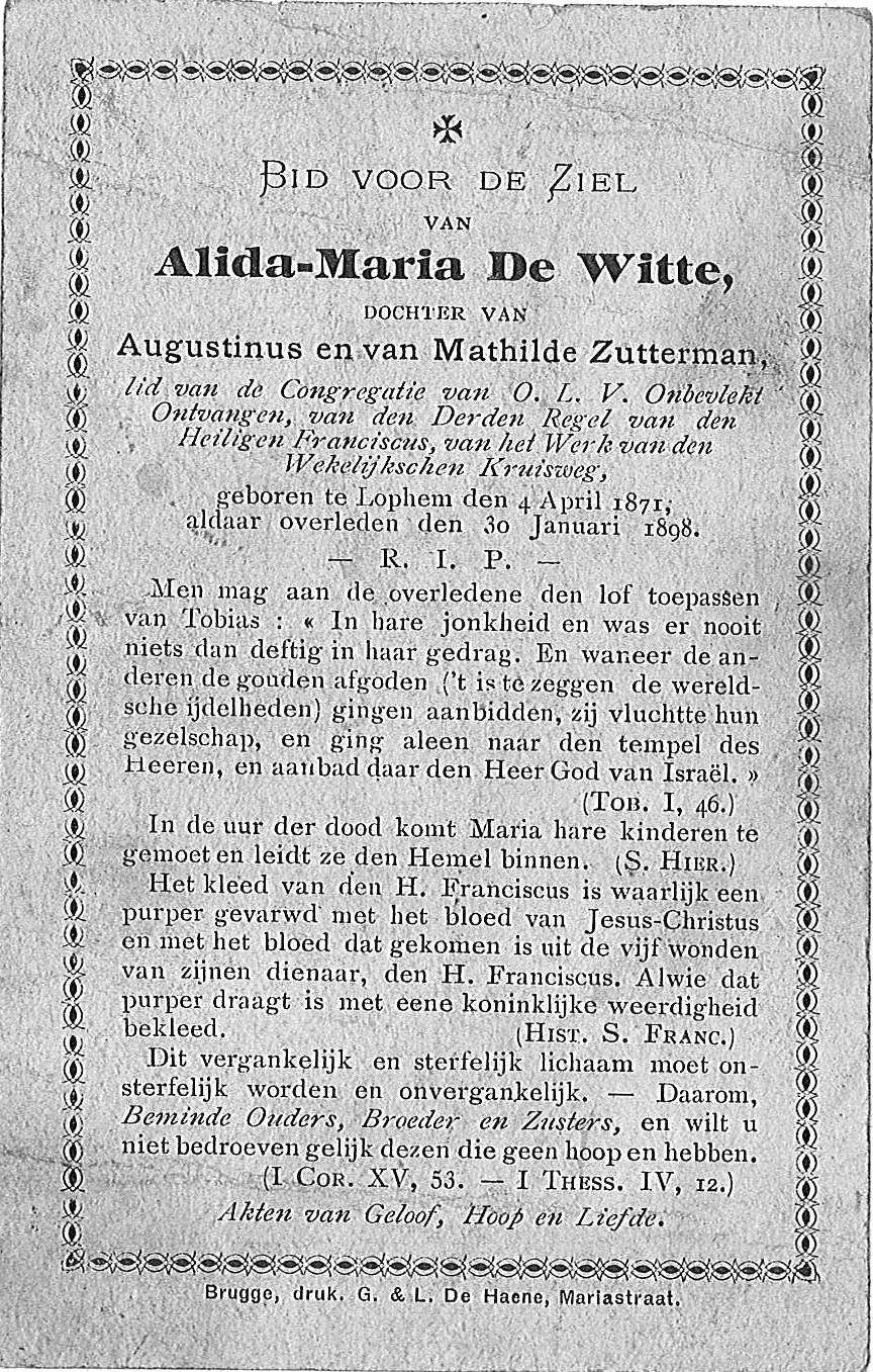 Alida-Maria De Witte