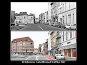 Sint-Jorisstraat anno 1970 en  2010