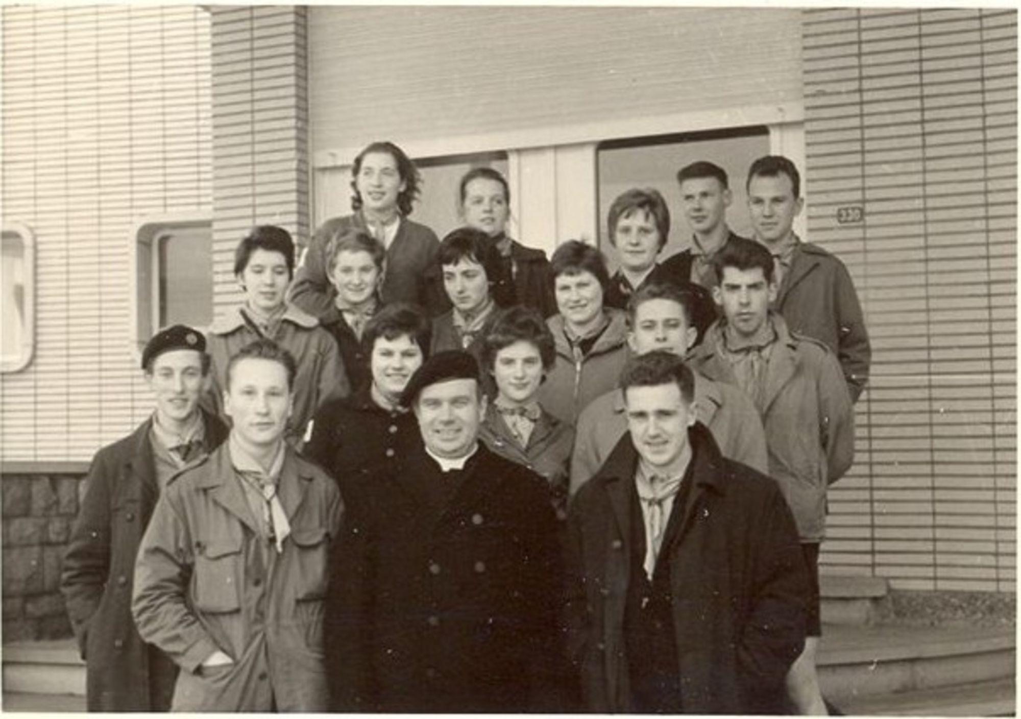 Scouts Gulden Vlies 1960
