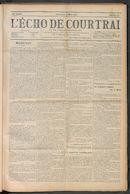 L'echo De Courtrai 1910-03-13 p1