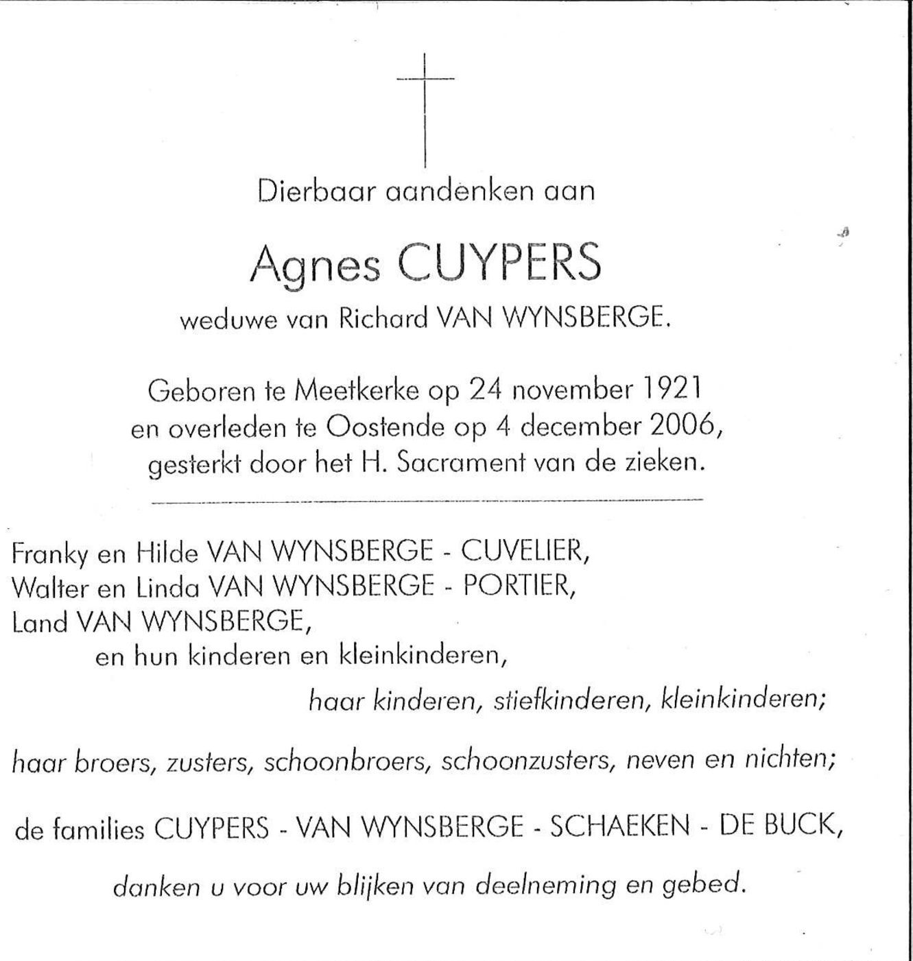 Agnes Cuypers