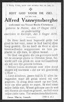 Vanwynsberghe Alfred