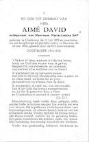 Aimé David