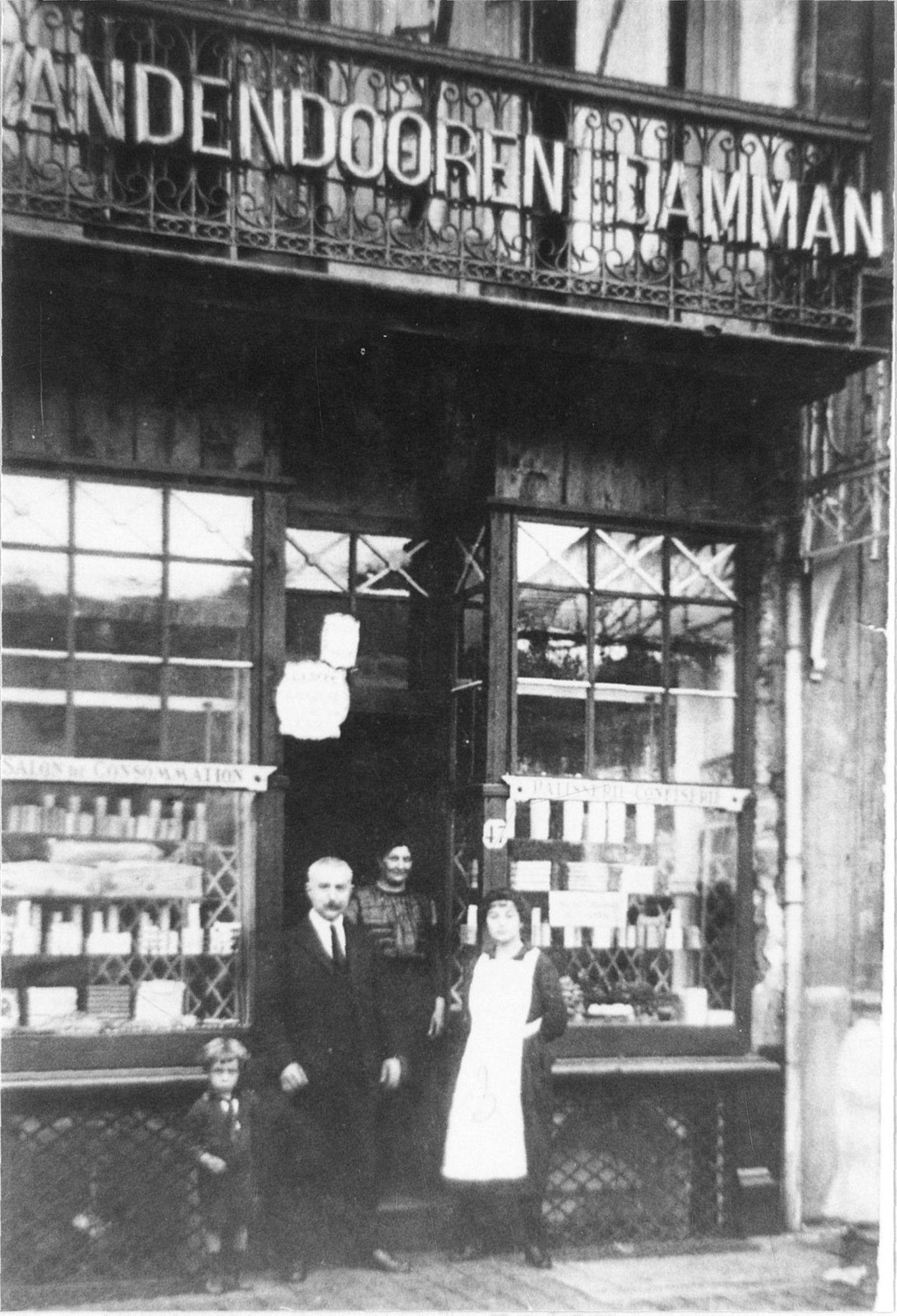 Patisserie Vandendooren- Damman op de Grote Markt