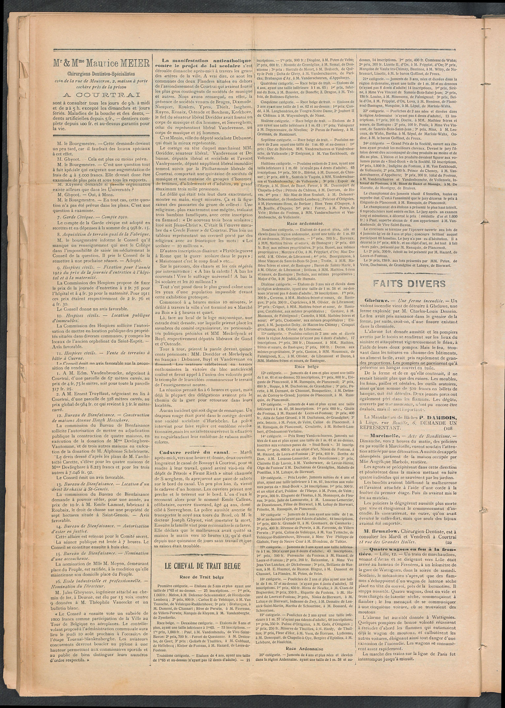 L'echo De Courtrai 1911-06-15 p2