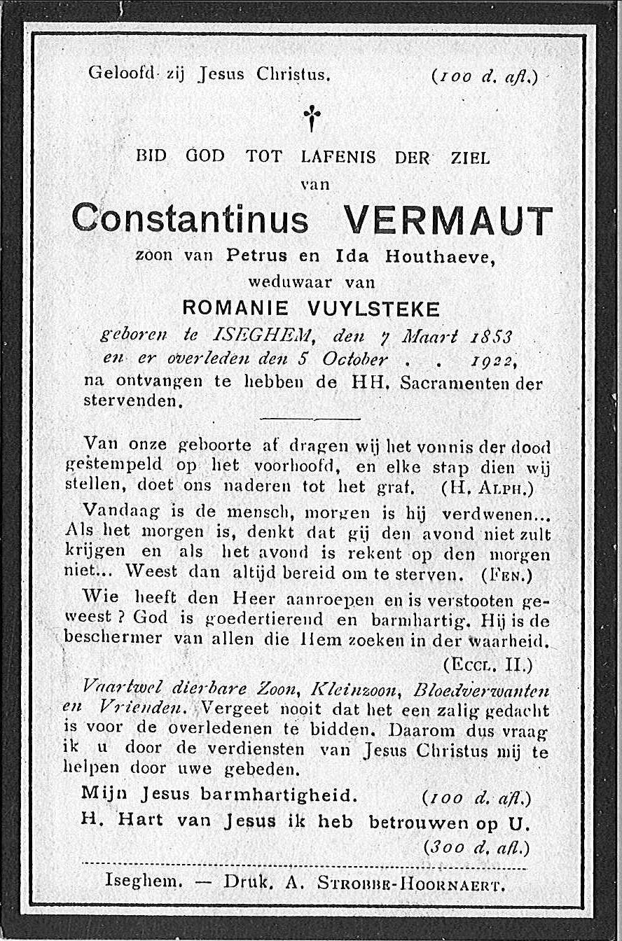 Constantinus Vermaut