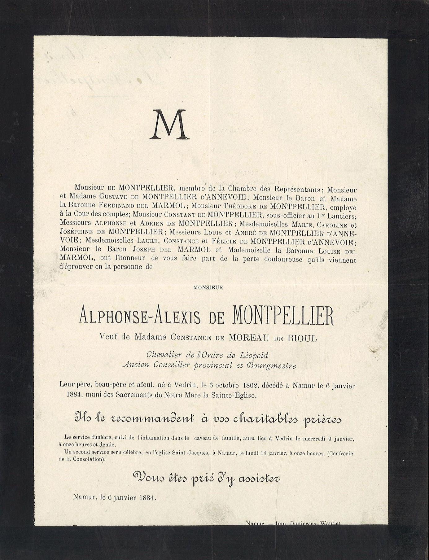 Alphonse-Alexis de Montpellier