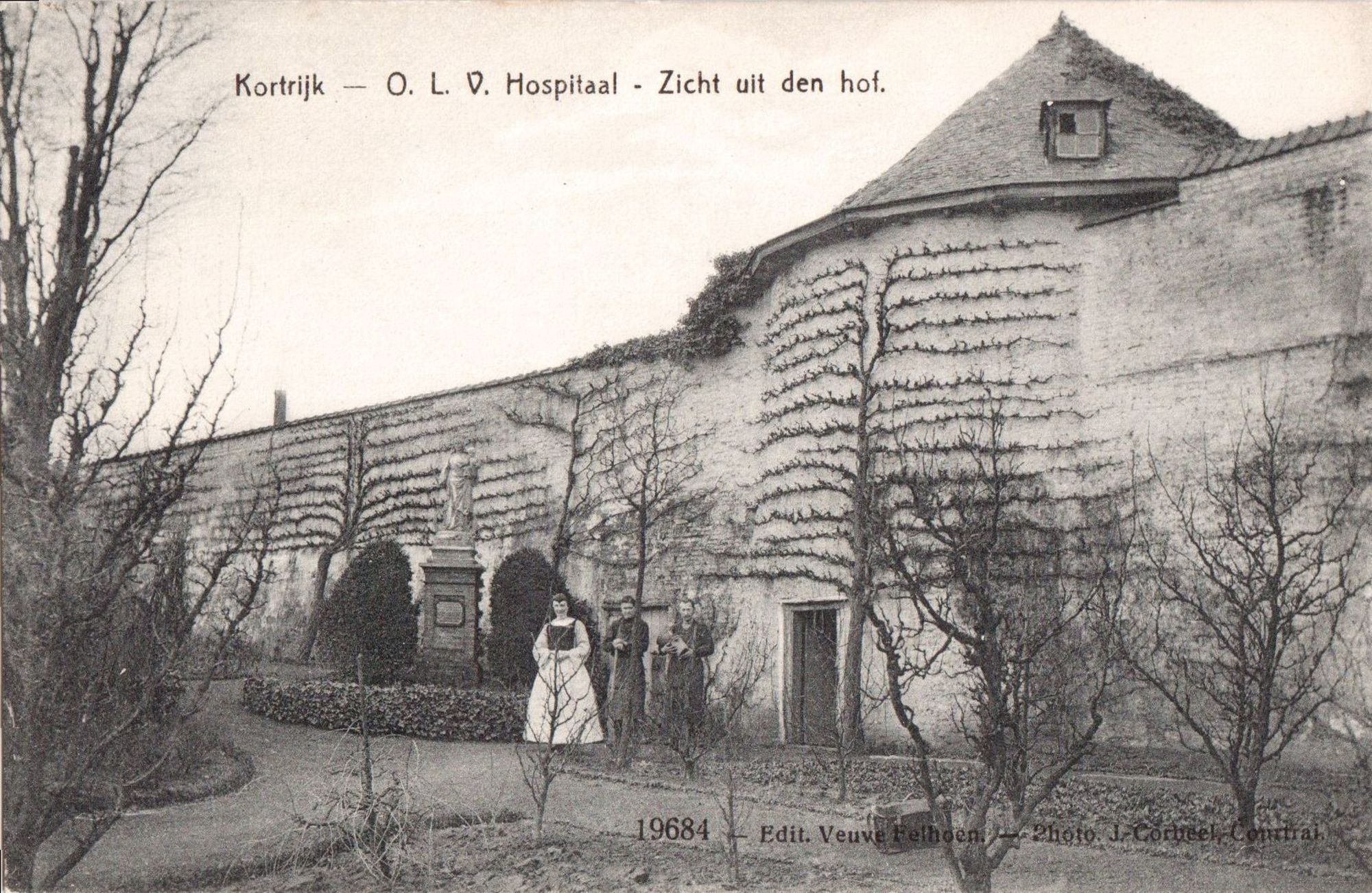 tuin van het O.L.V. Hospitaal