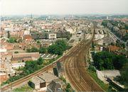 Station van Kortrijk 1986