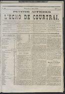 L'echo De Courtrai 1873-03-02 p1