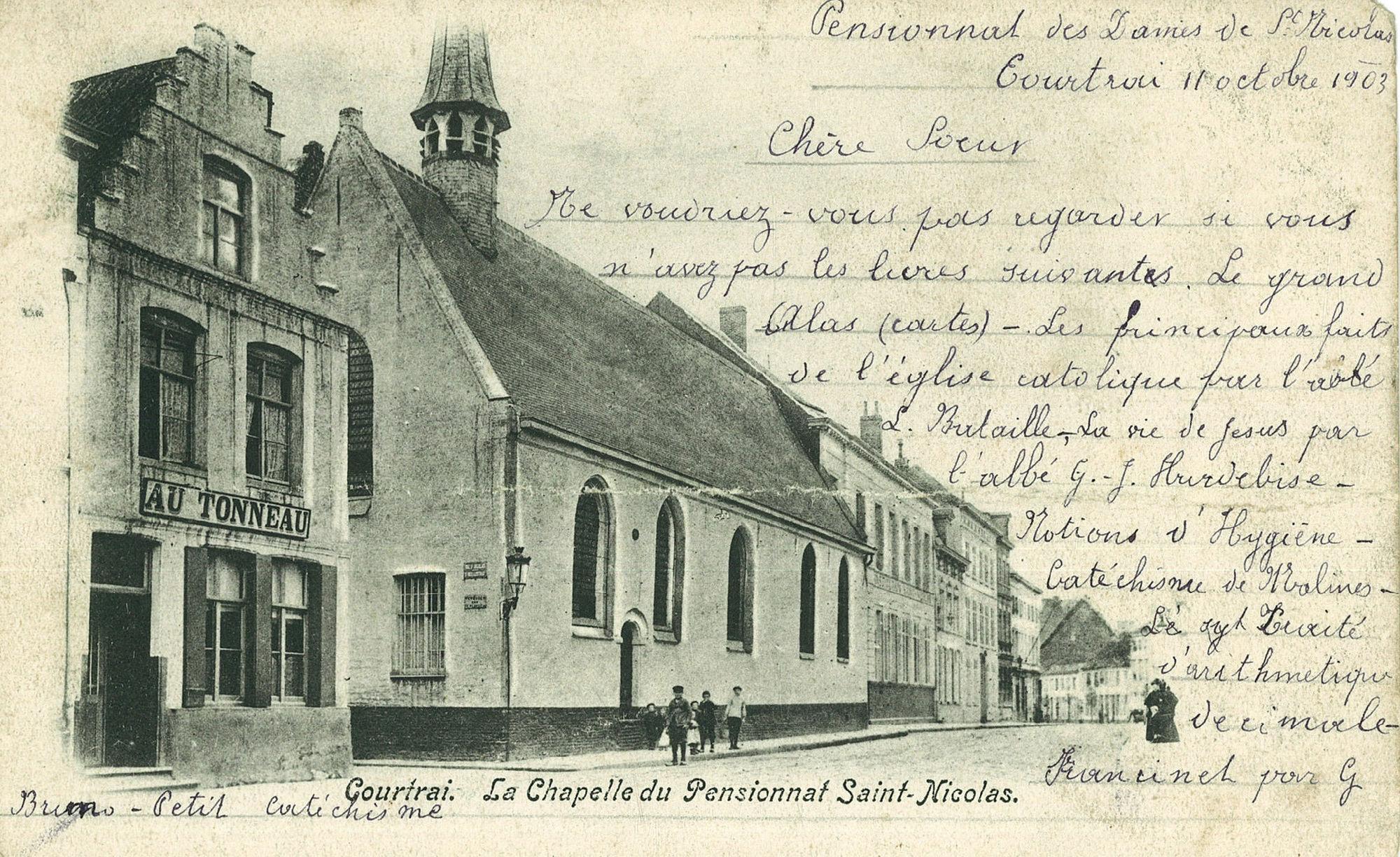 Kapel van Sint-Niklaasklooster en -school