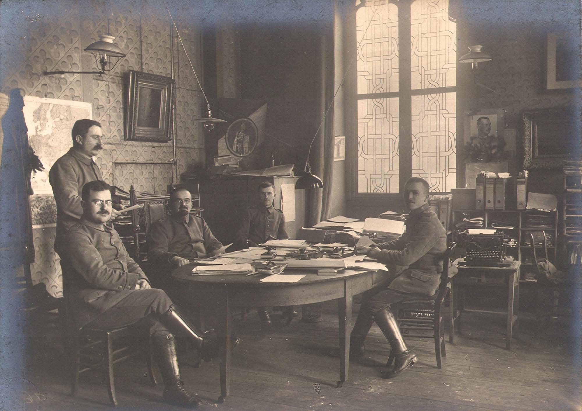 Duitse bezetter in de Leiestraat