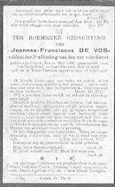 Joannes-Franciscus De Vos