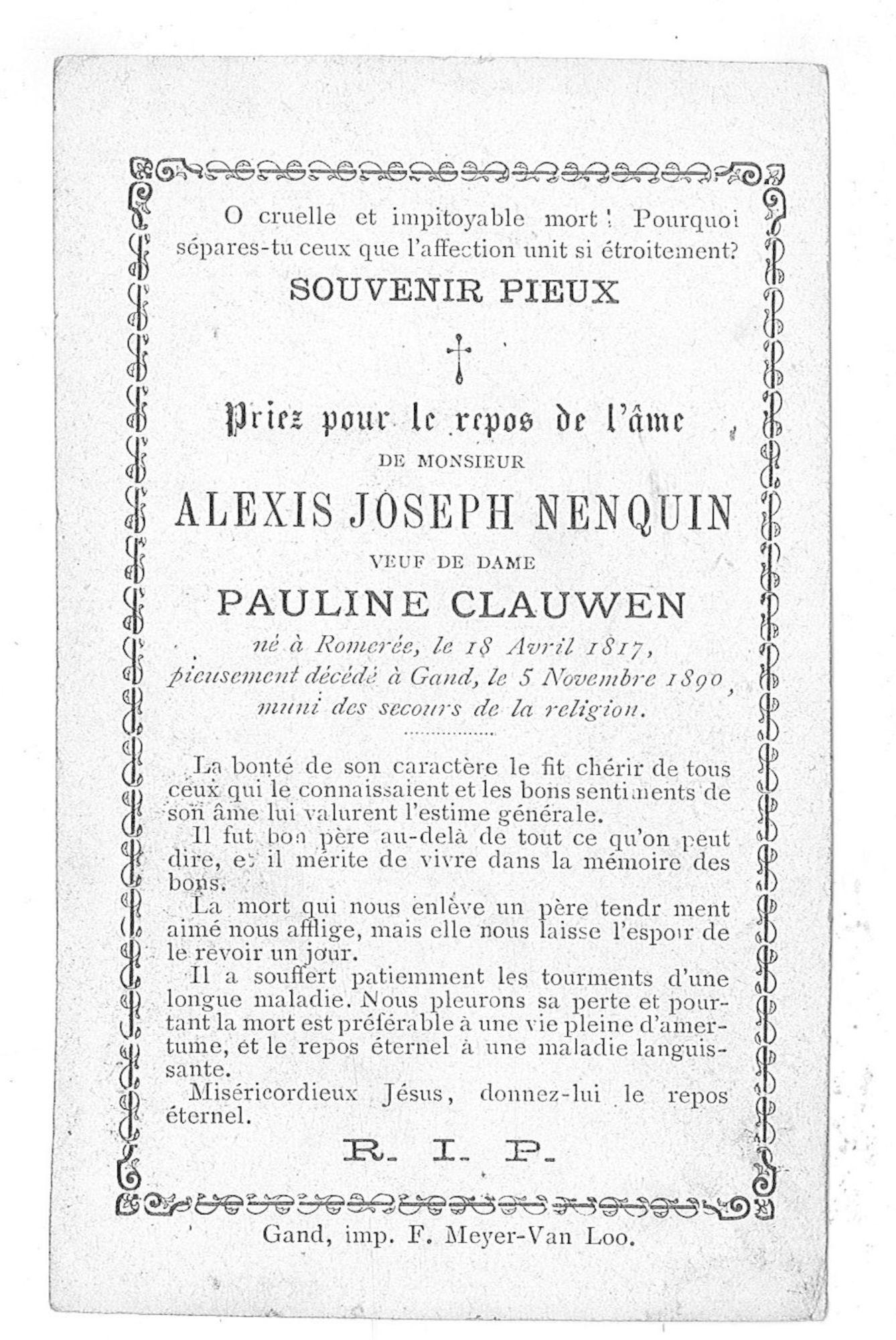 Alexis-Joseph Nenquin