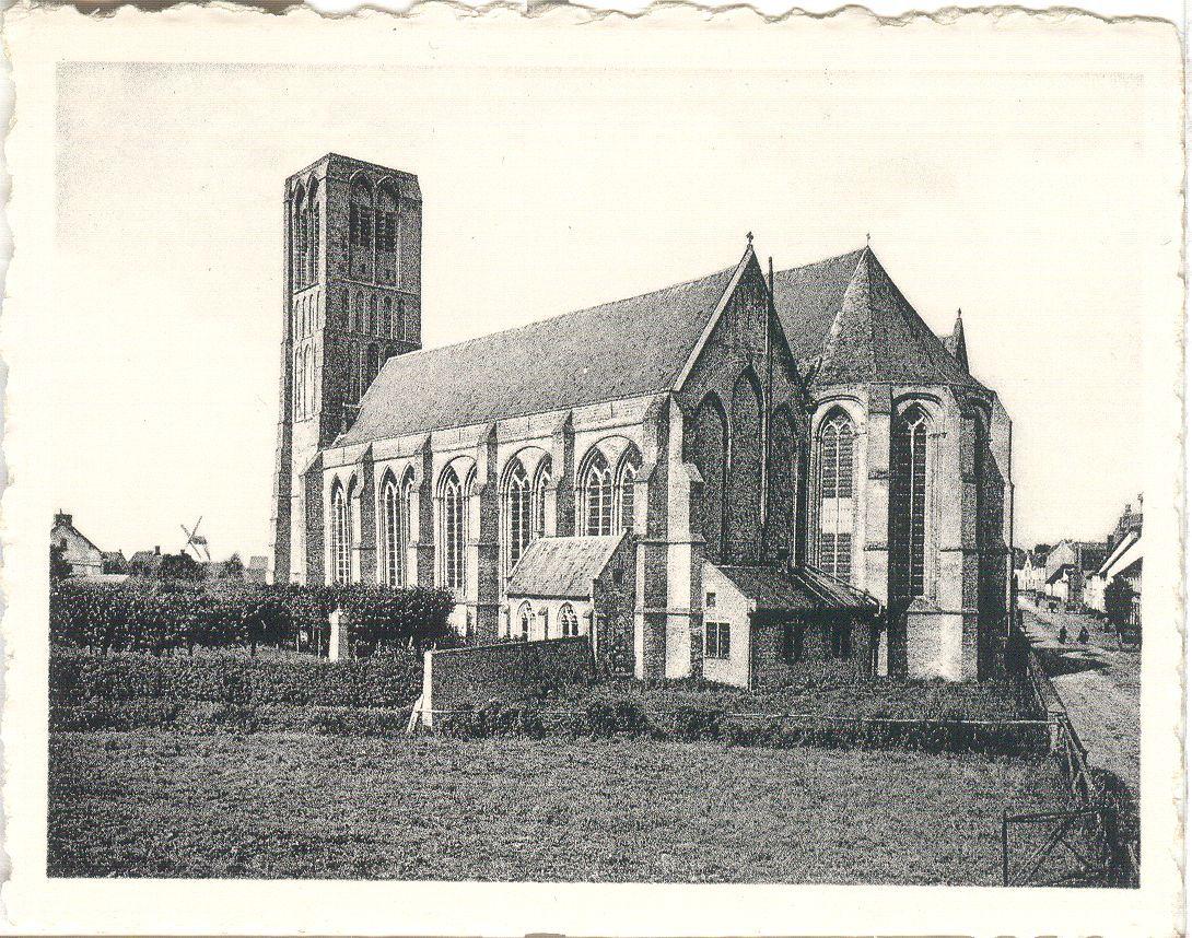 Westflandrica - de Onze-Lieve-Vrouwekerk in Damme