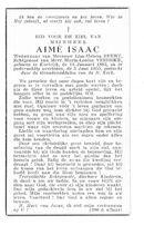 Aimé Isaac