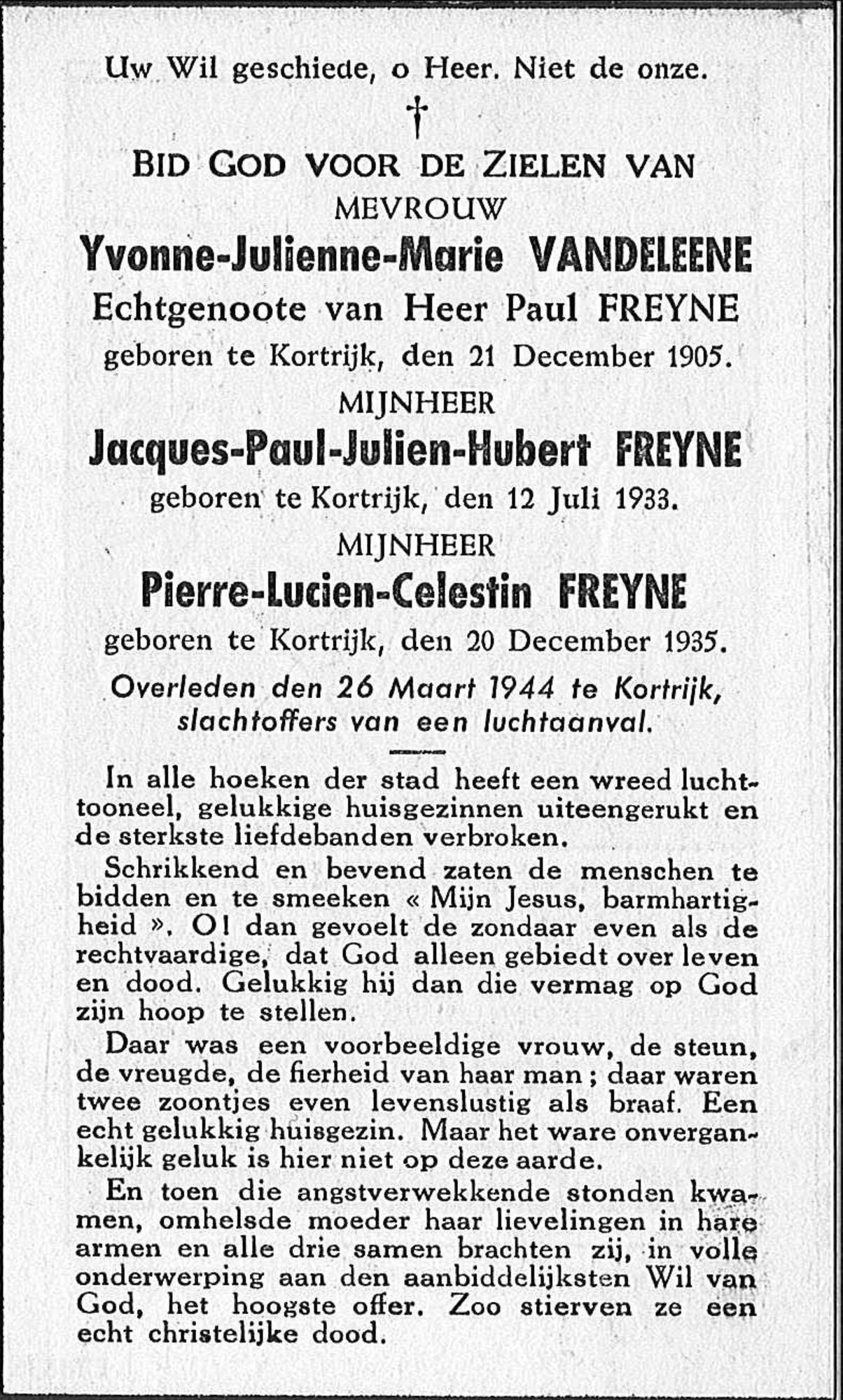 Pierre-Lucien-Celestin Freyne