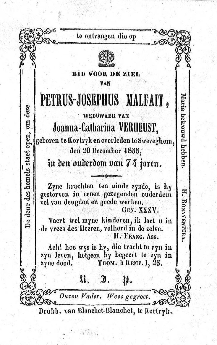 Petrus-Josephus Malfait