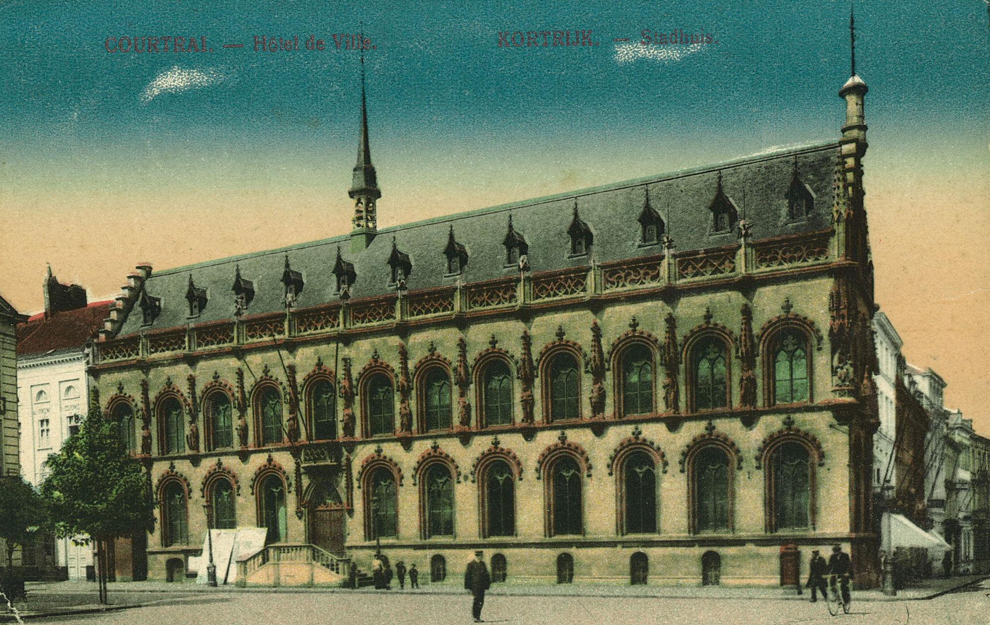Stadhuis, Rijselsestraat en Leiestraat