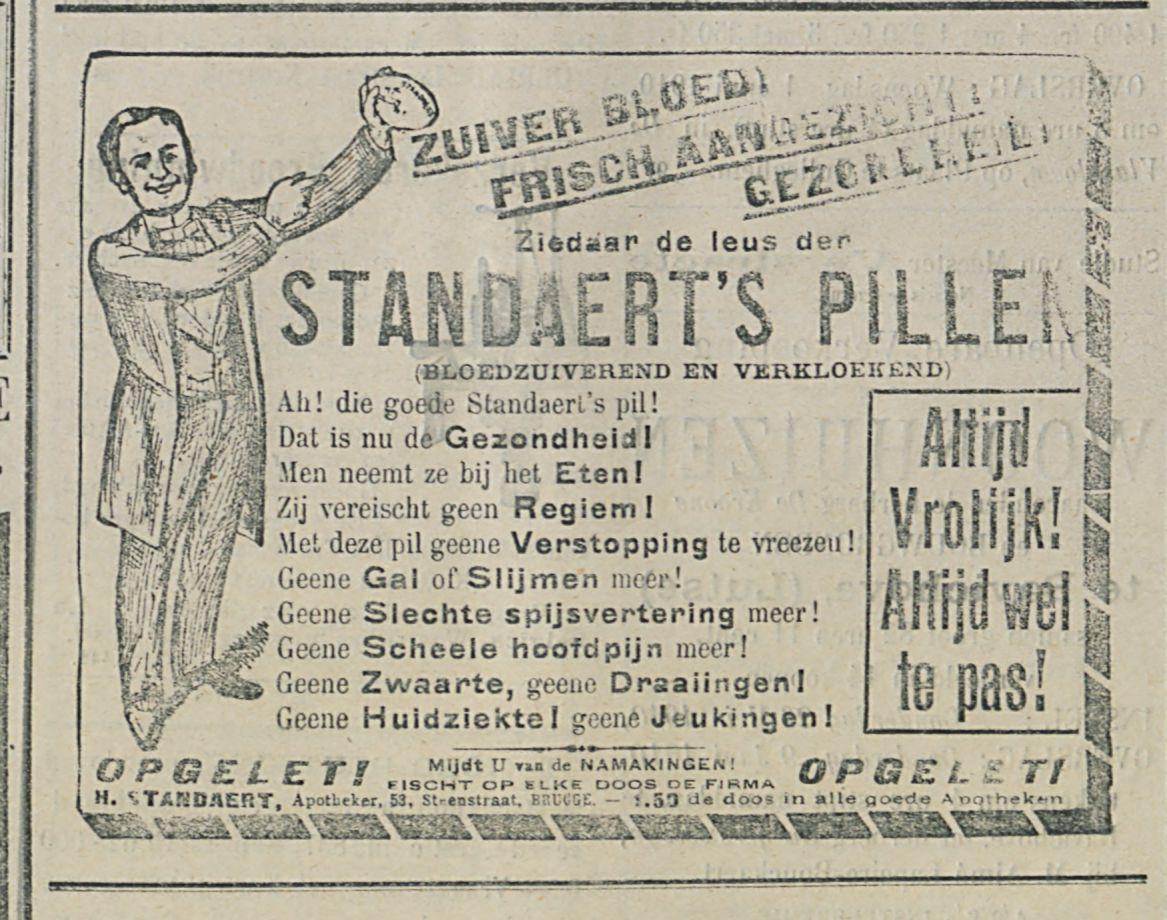 STANDAERTS PILLEN