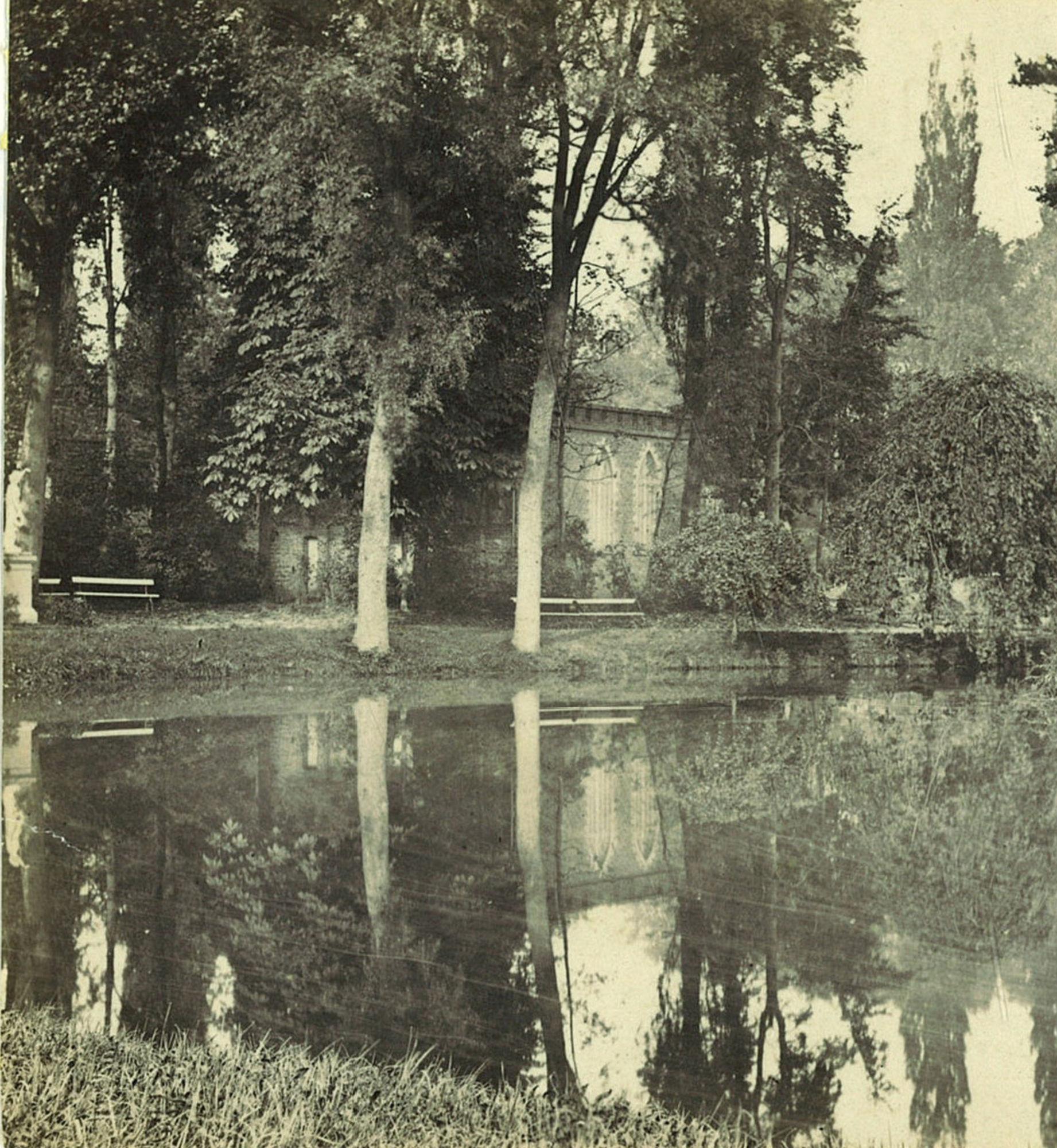 Het Sint-Jorispark, de schietbaan