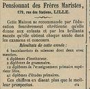 Pensionnat des Freres Maristes