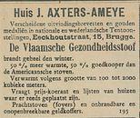 Huis J AXTERS-AMEYE