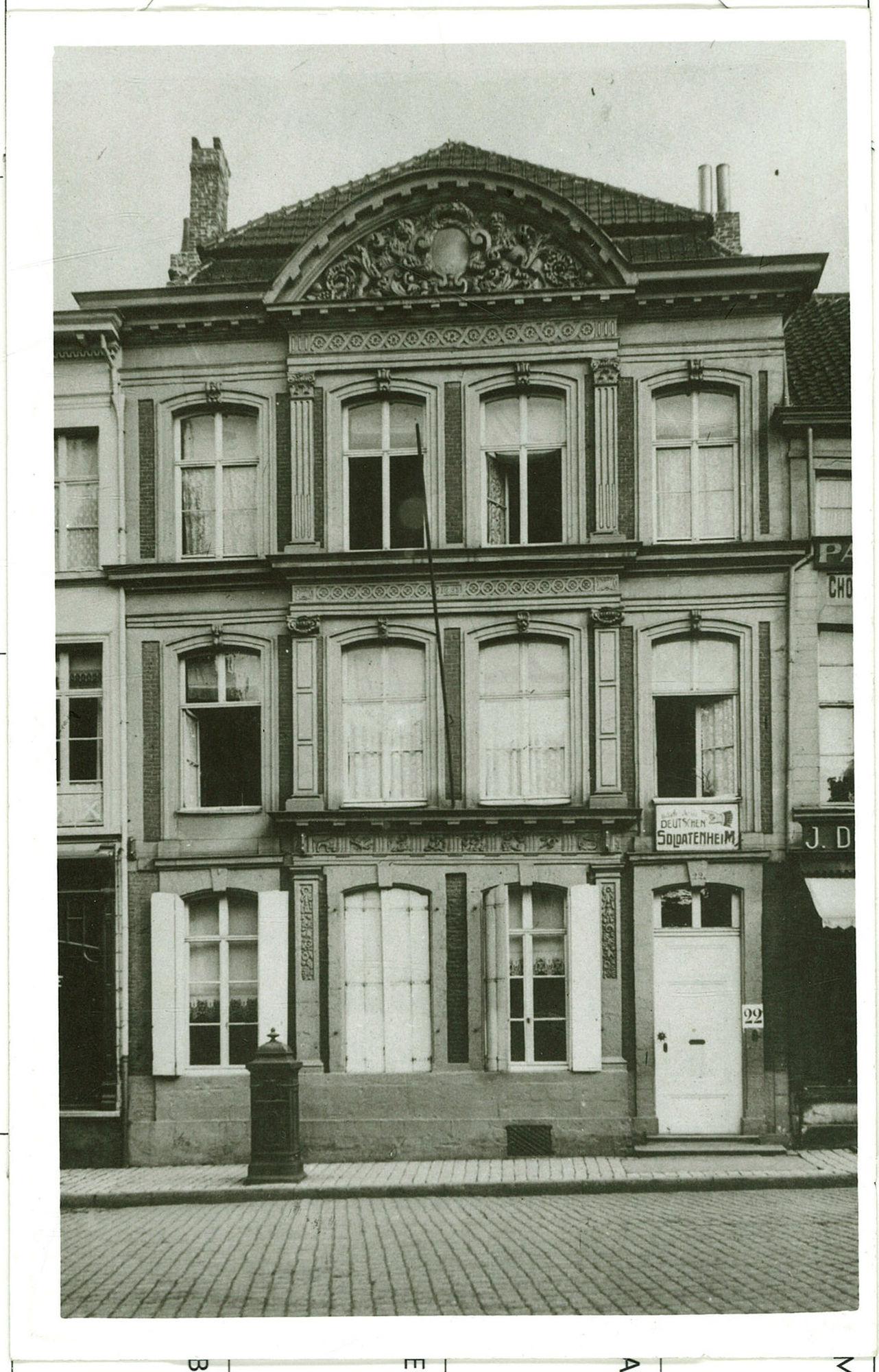 Huize Ghellynck Soldatenheim