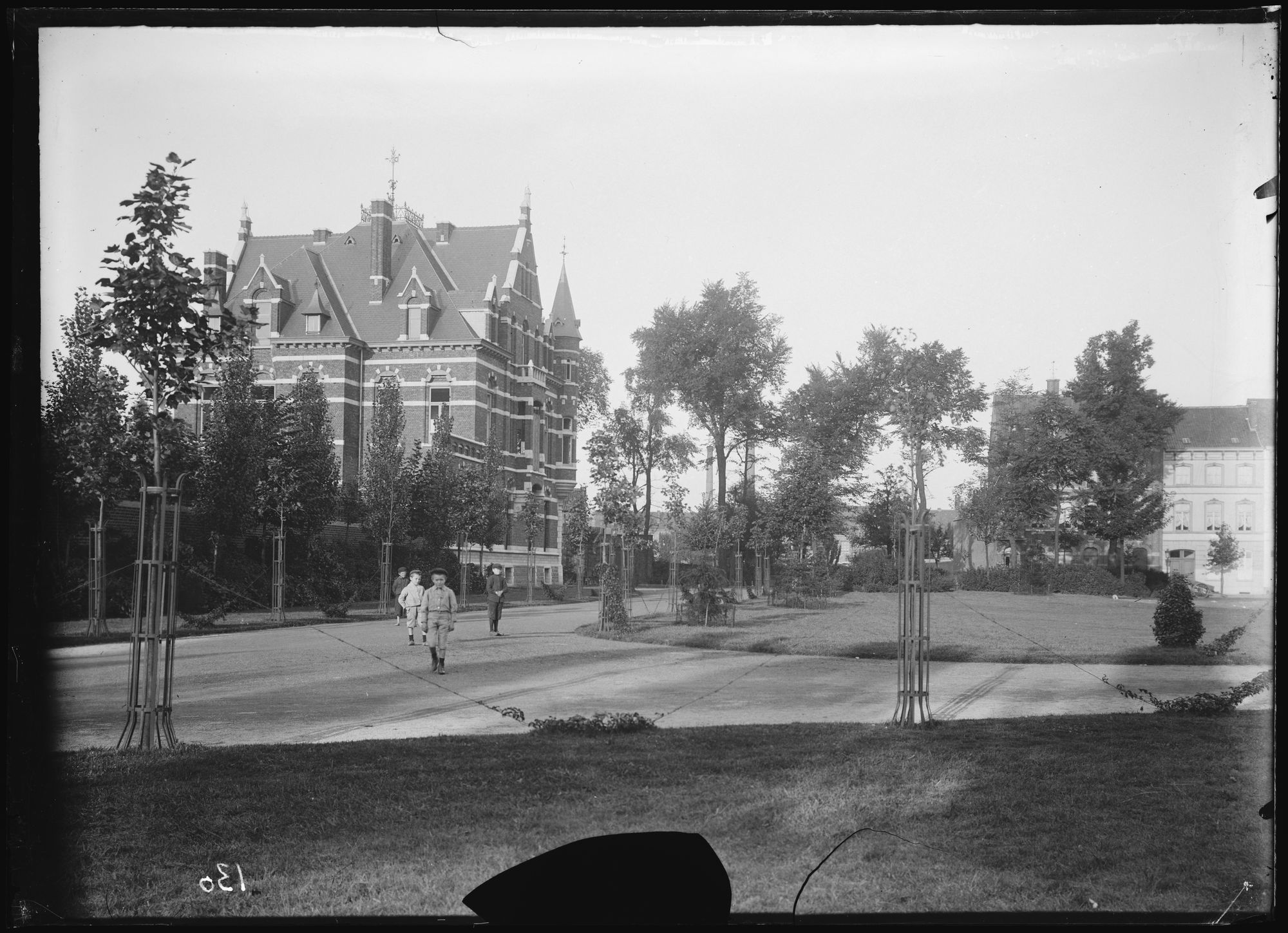 Groeningepark en Goethalslaan voor 1906