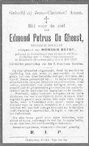 Edmond-Petrus De Gheest