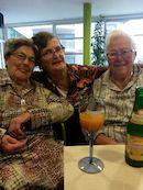Ludwina Clinckemaille, Jeannette Lesaffre en Simonne Planckaert