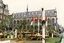 Groenten en Fruitexpo Kortrijk op de Grote Markt 1987