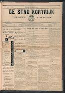 De Stad Kortrijk 1911-10-14 p1