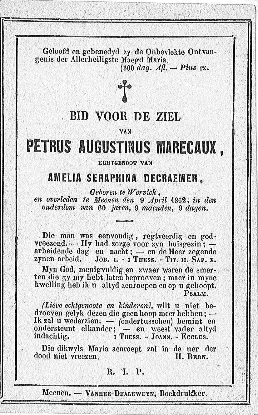 Petrus-Augustinus Marecaux