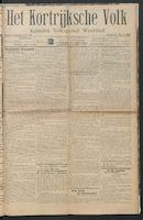 Het Kortrijksche Volk 1914-03-08 p1